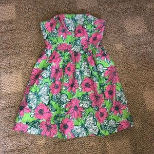 Lilly Pulitzer Short Strapless Dress